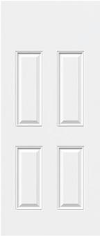 modele de porte à 4 panneaux