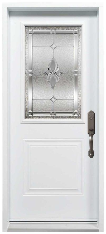 Porte Acier Novatech Mystique Blanc